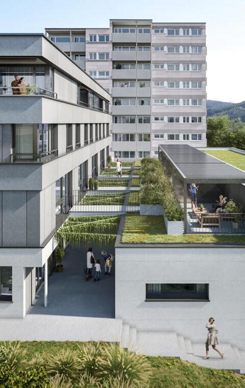 Baugenossenschaft Pro Familia Baden