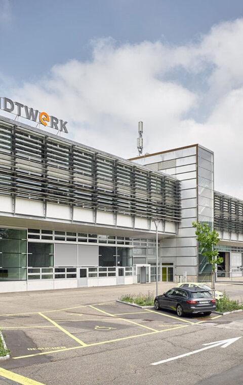 Umbau Schöntal, Stadtwerk Winterthur