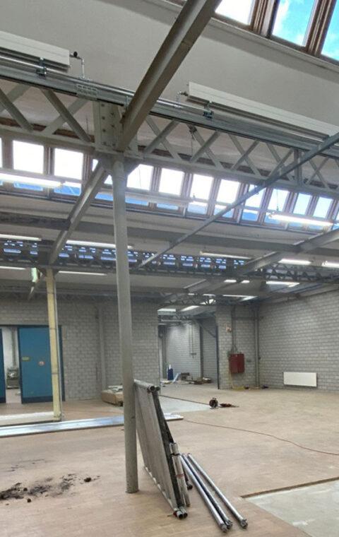 ZHAW Wädenswil, Campus Riedbach – Shedhallen